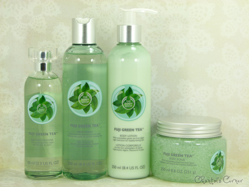 The Body Shop Fuji Green Tea Products Review