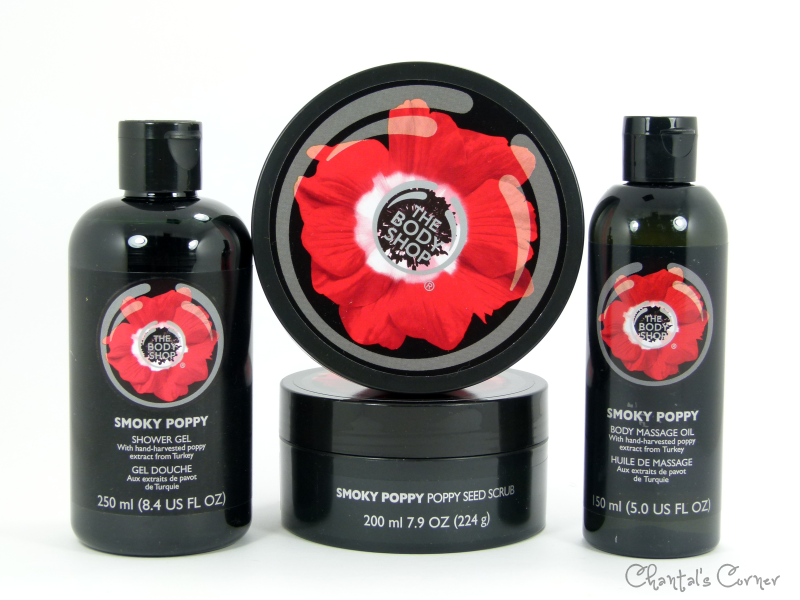 The Body Shop Smoky Poppy Products Review