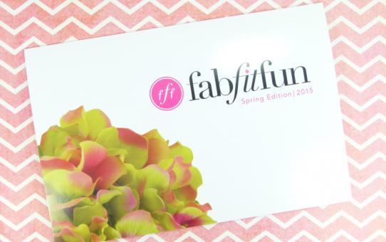FabFitFun Spring 2015