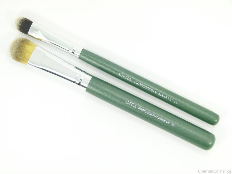 FabFitFun Spring 2015 ofra cosmetics eyeshadow brushes