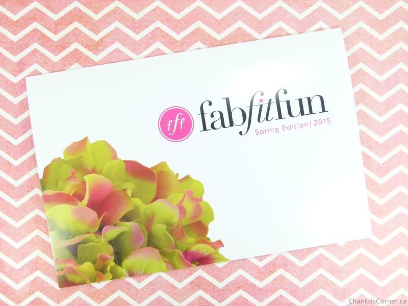 FabFitFun – 2015 Spring Edition