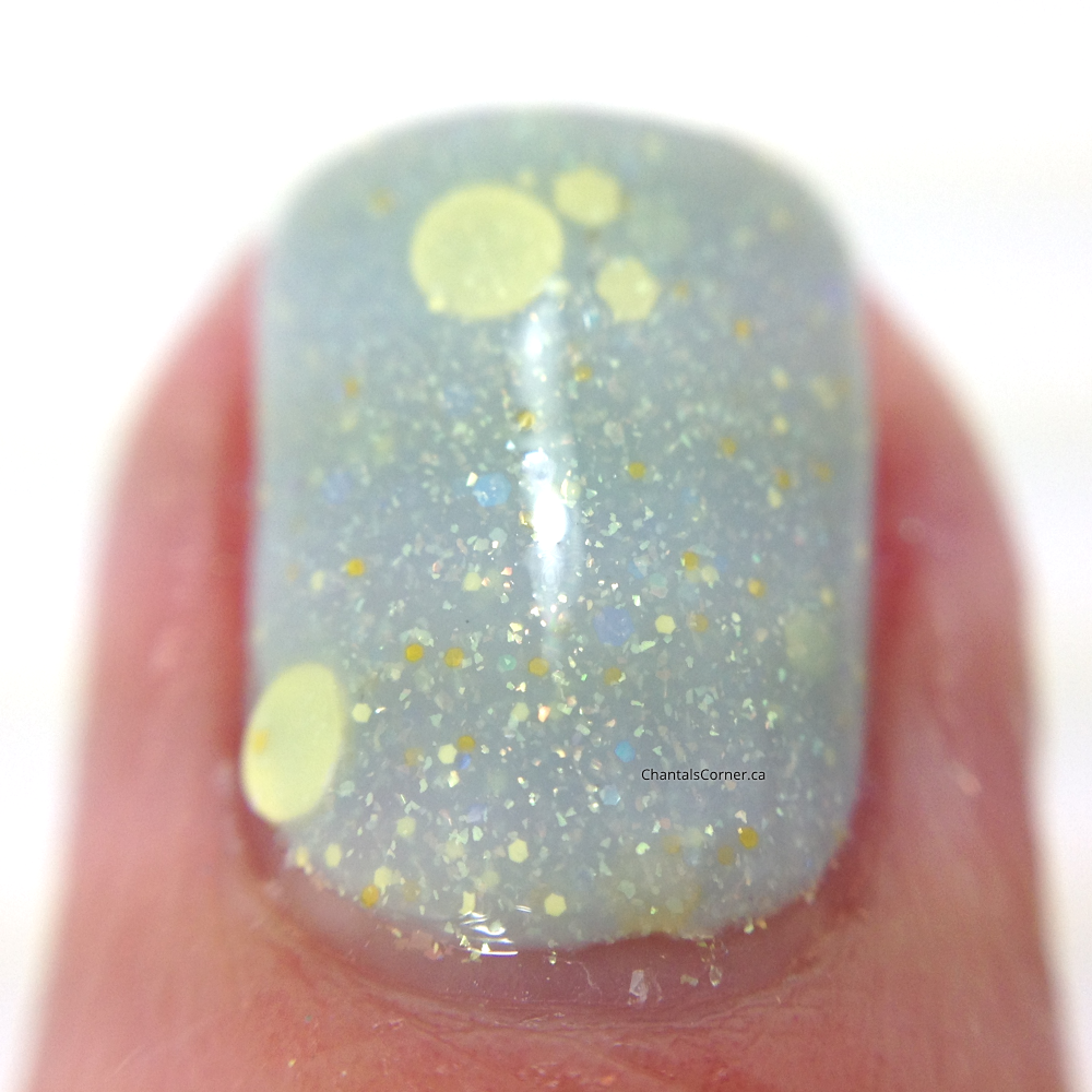 rainbow honey muffins nail polish