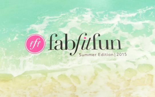 fabfitfun summer 2015
