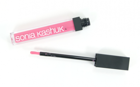 sonia kashuk ultra luxe lip gloss prettiest pink