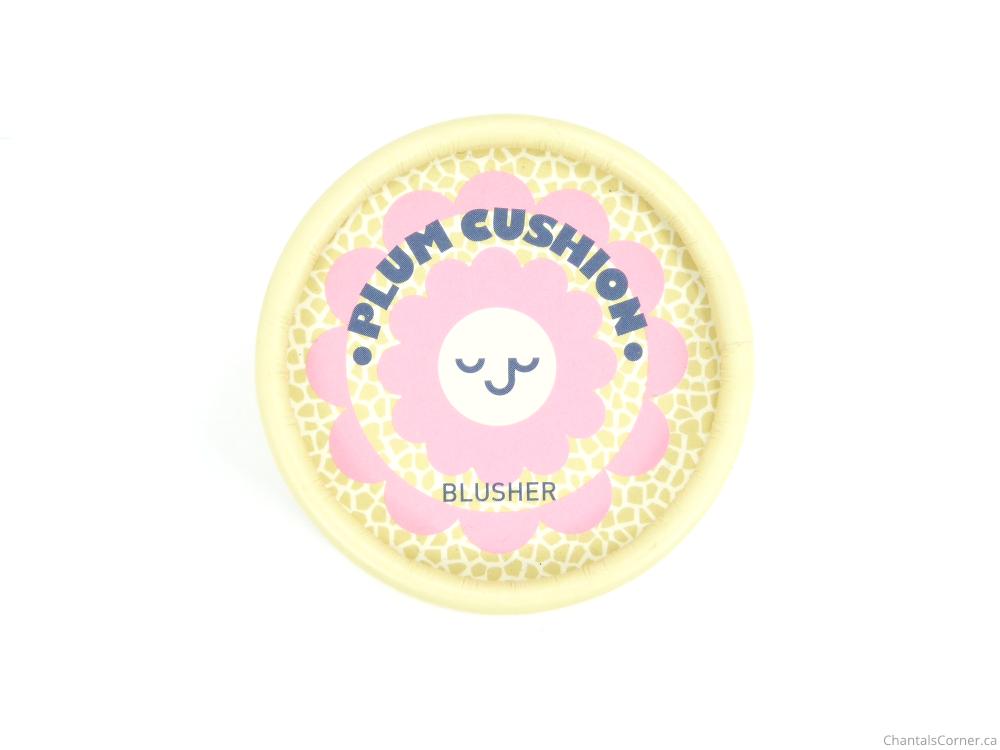 thefaceshop plum cushion blusher