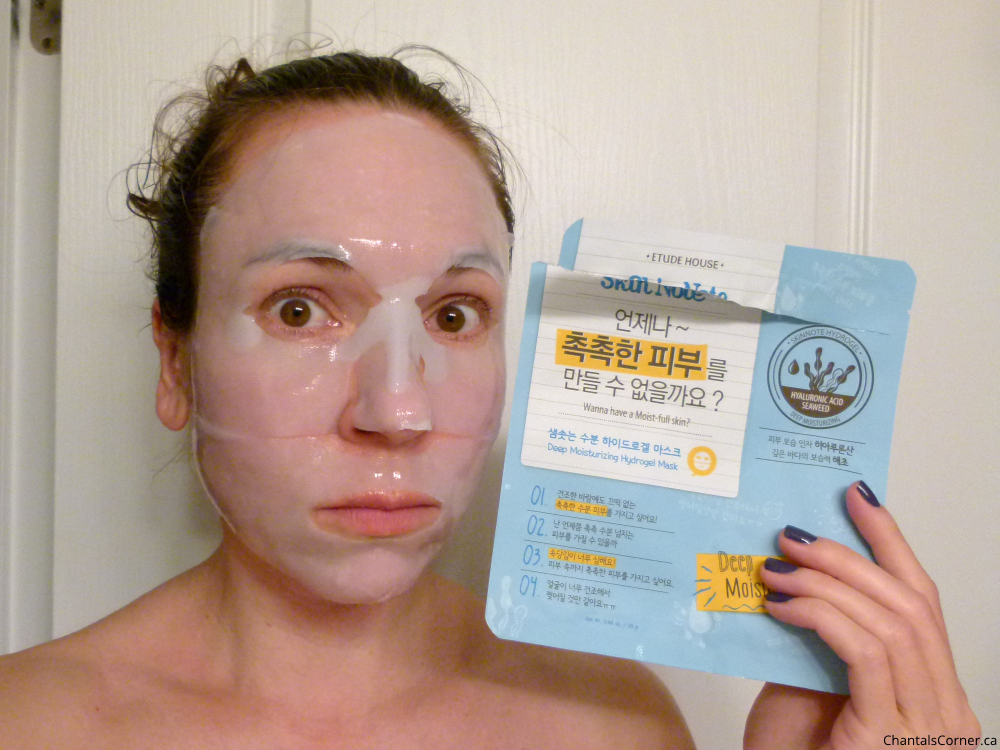 Etude House Skin Note Deep Moisturizing Hydrogel Mask