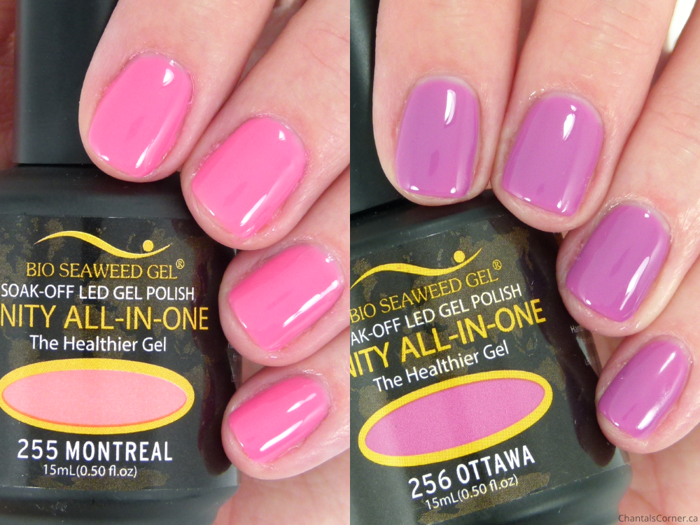 Bio Seaweed Gel Nail Polish in Ottawa and Montreal