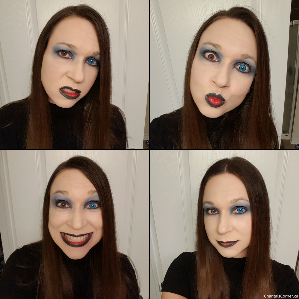 spooky eyes blue manson contact lenses