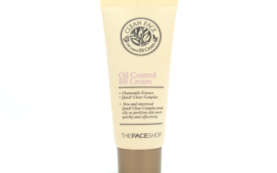 thefaceshop oil control bb cream