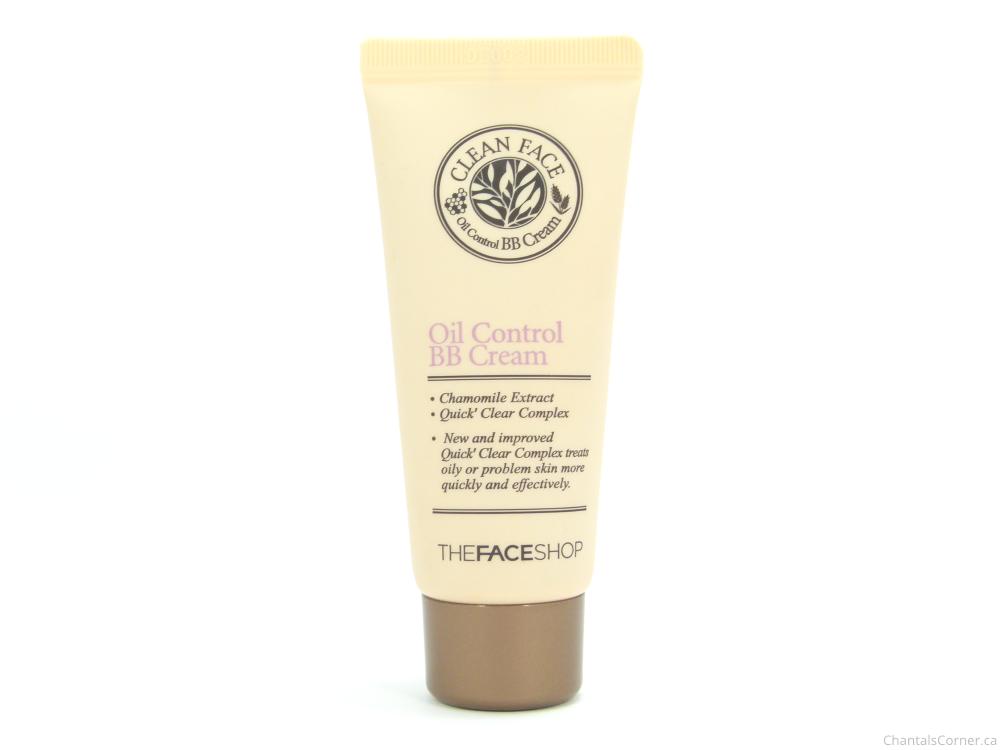 thefaceshop oil control bb cream