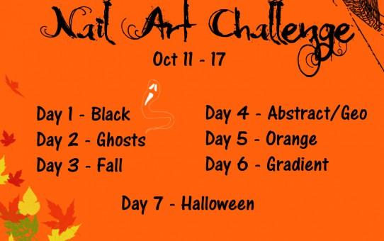 october nail art challenge