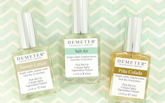 demeter fragrance suntan lotion salt air pina colada