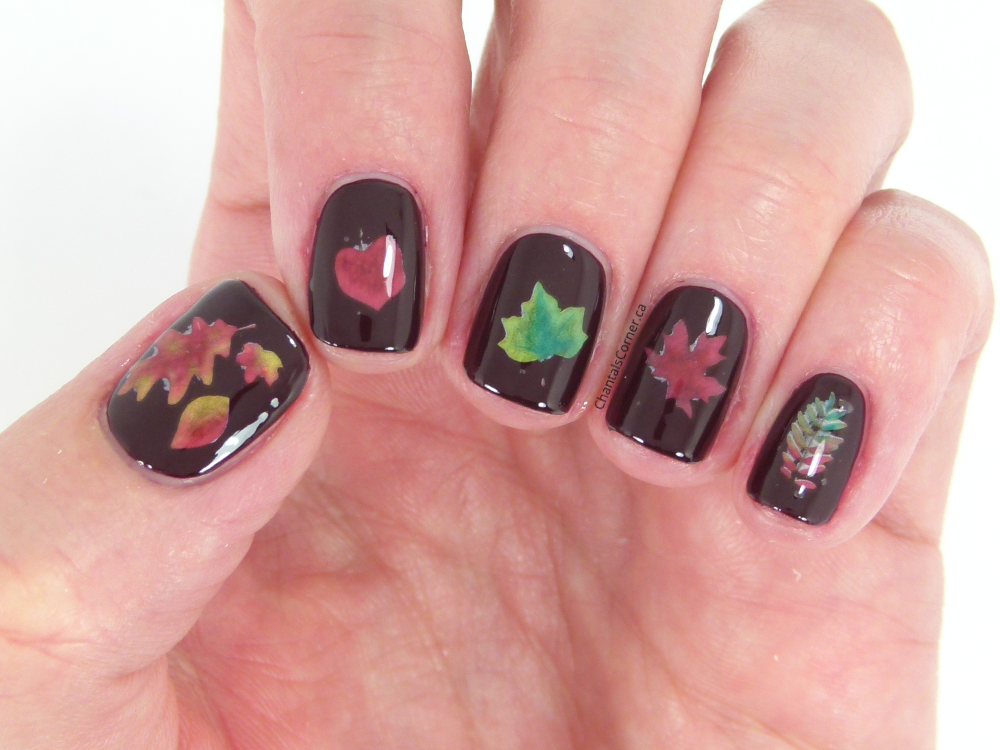 October Nail Art Challenge Day 3: Fall - Chantal\'s Corner