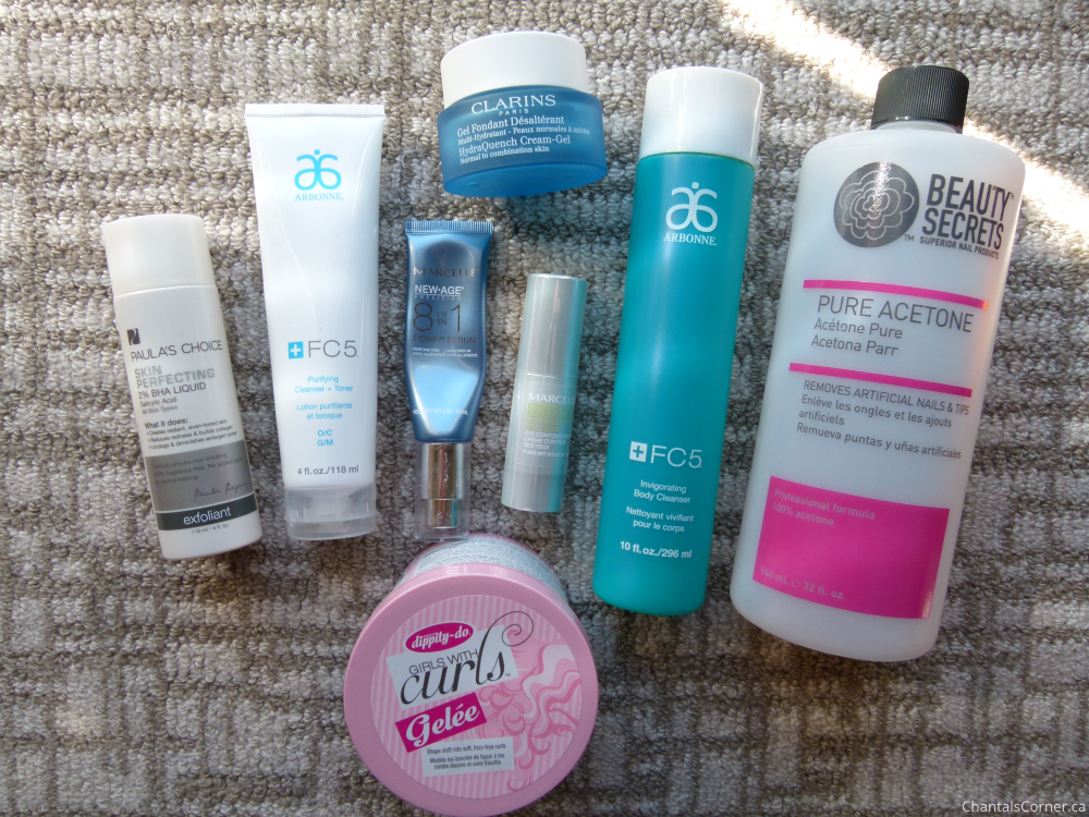 monthly empties august 2015