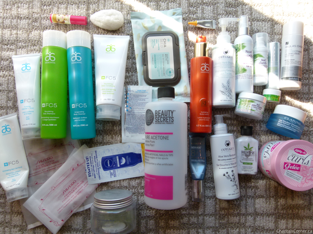 monthly empties july august september 2015