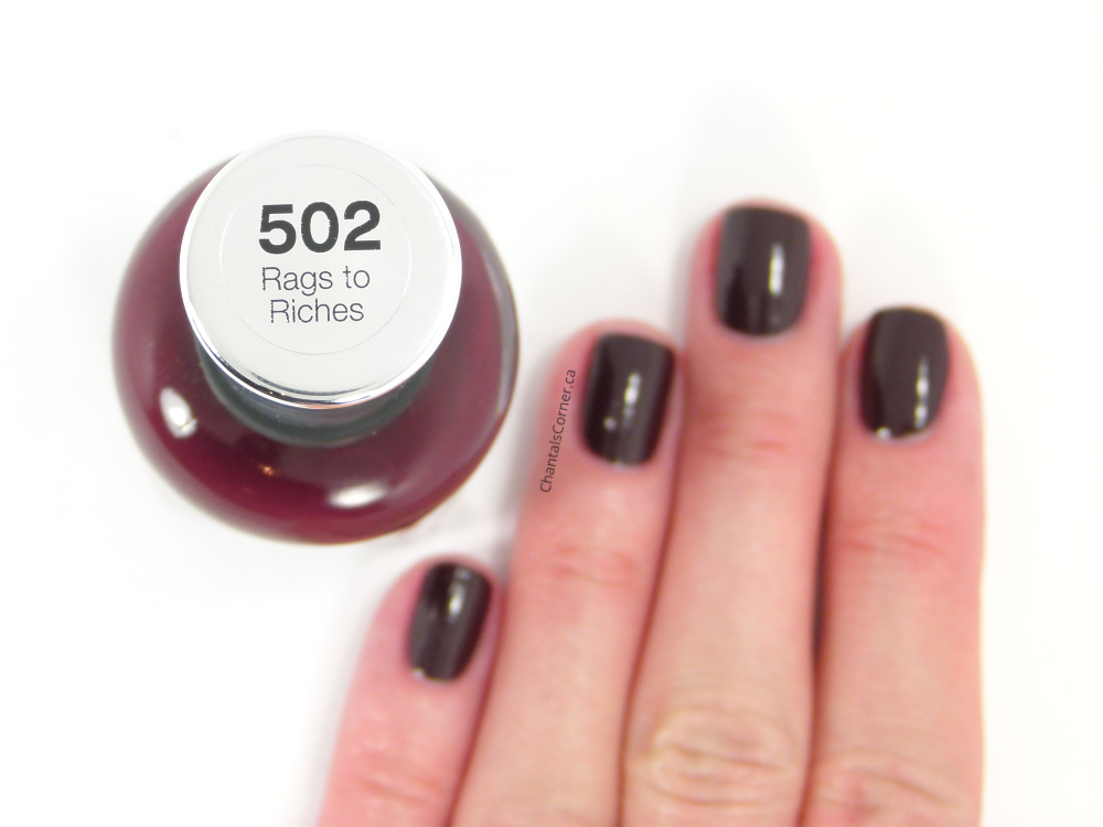 sally hansen rags to riches nail polish