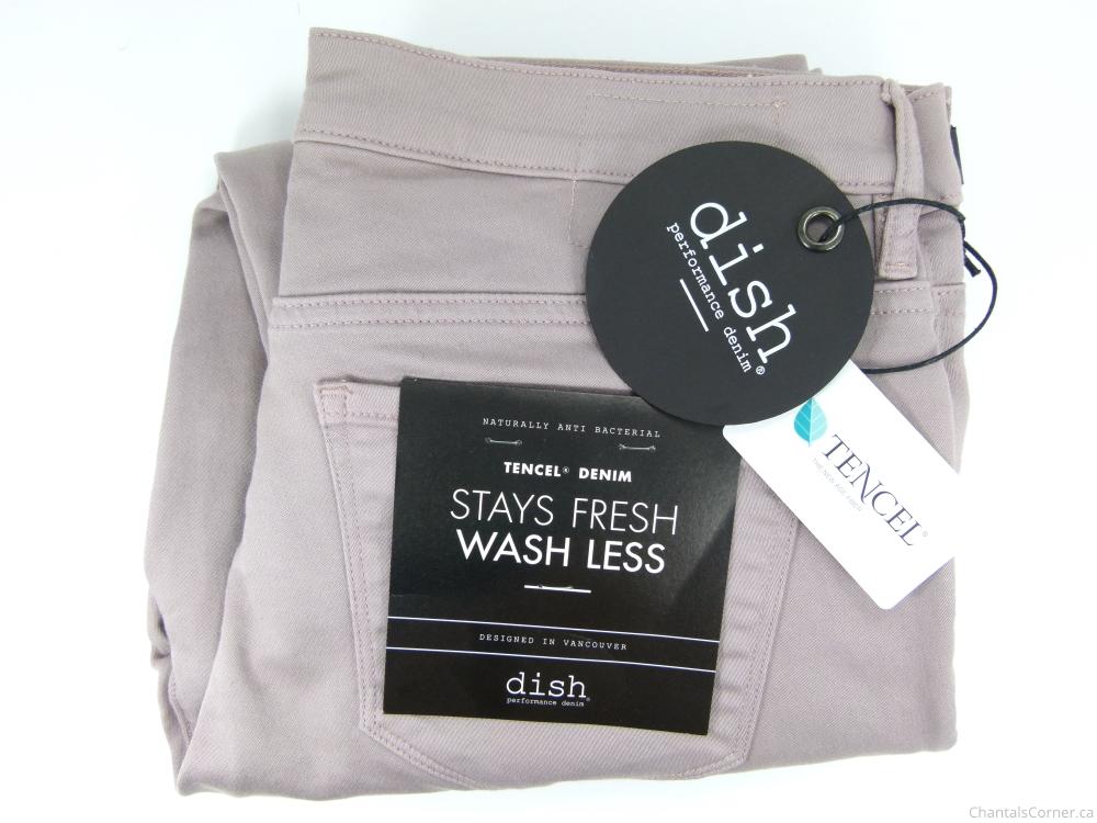 dish & DU/ER: dish 5 Pocket Skinny Crop Pant