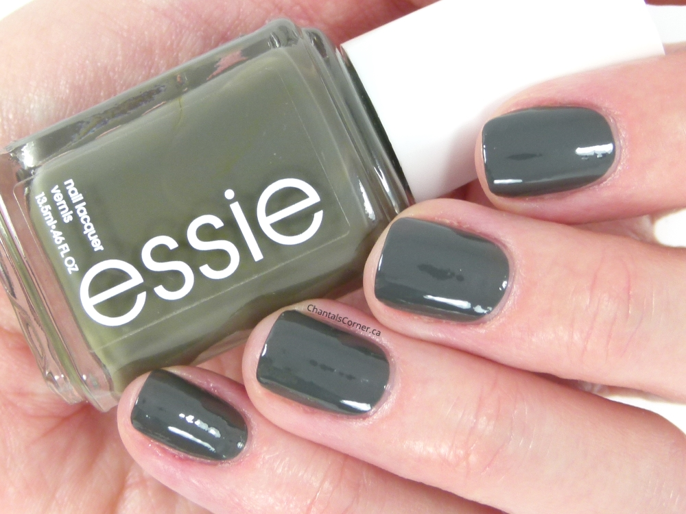 "essie ""power clutch"" nail polish"