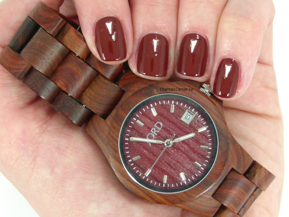 jord watch nail art with lady queen nail art studs
