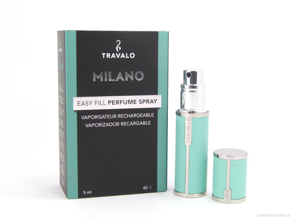 Travalo Refillable Fragrance Atomizer – Milano in Aqua