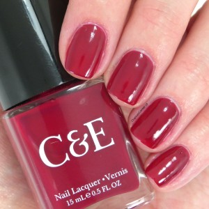 crabtree and evelyn cranberry nail polish