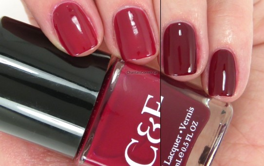 crabtree and evelyn cranberry wine nail polish