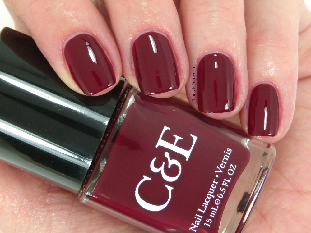 crabtree and evelyn wine nail polish