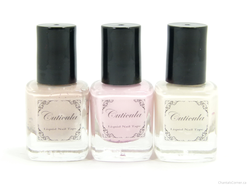 Cuticula Scented Liquid Nail Tape: Winter Mini Trio Collection