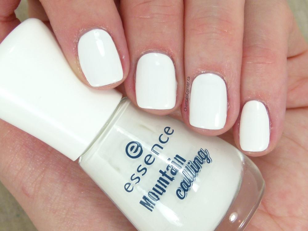 "essence ""snow alert!"" nail polish"