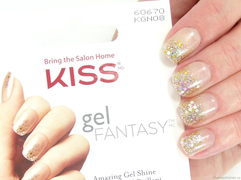 KISS Gel Fantasy Nails in Fanciful - Chantal\'s Corner