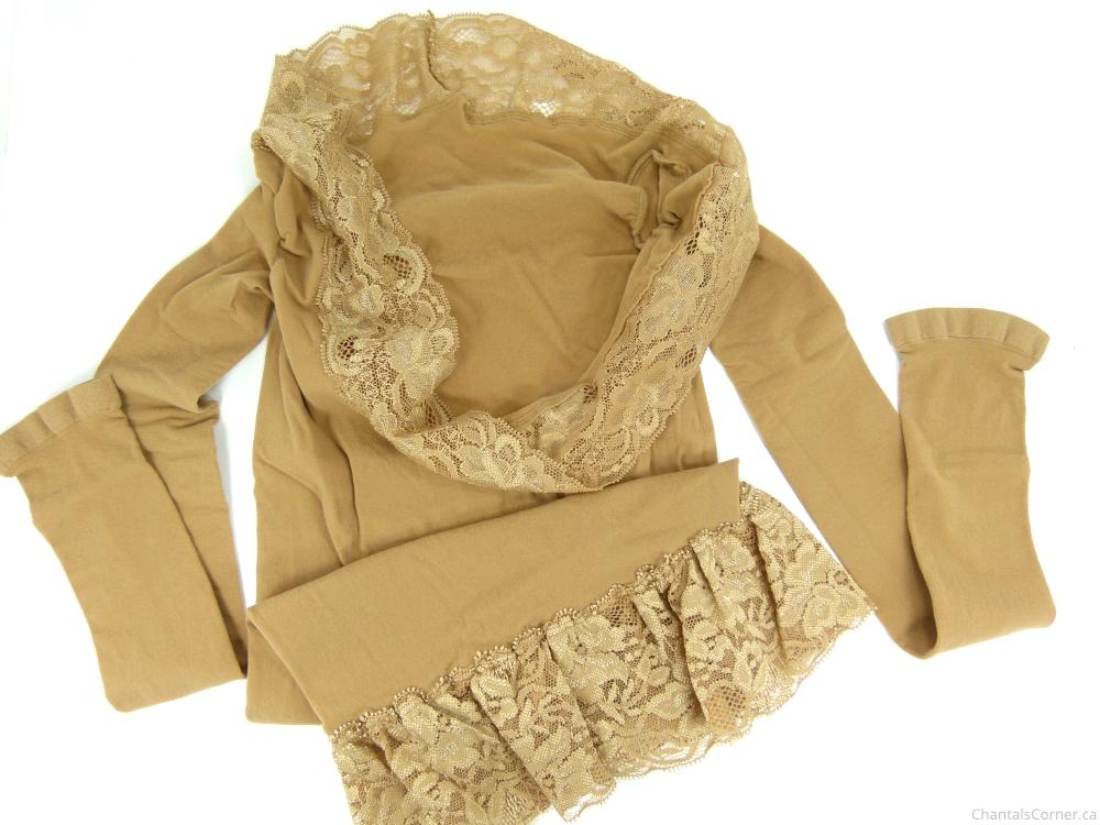 SLANKY Lace Body Warming Underwear