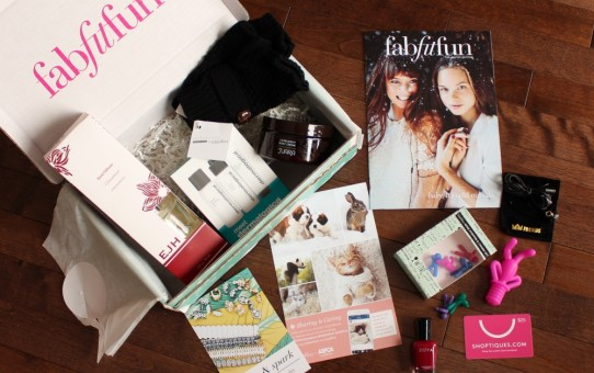 fabfitfun winter 2015 edition