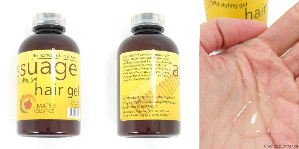maple holistics assuage hair gel