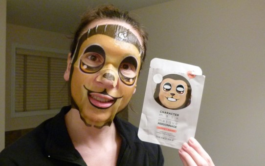 thefaceshop character mask monkey