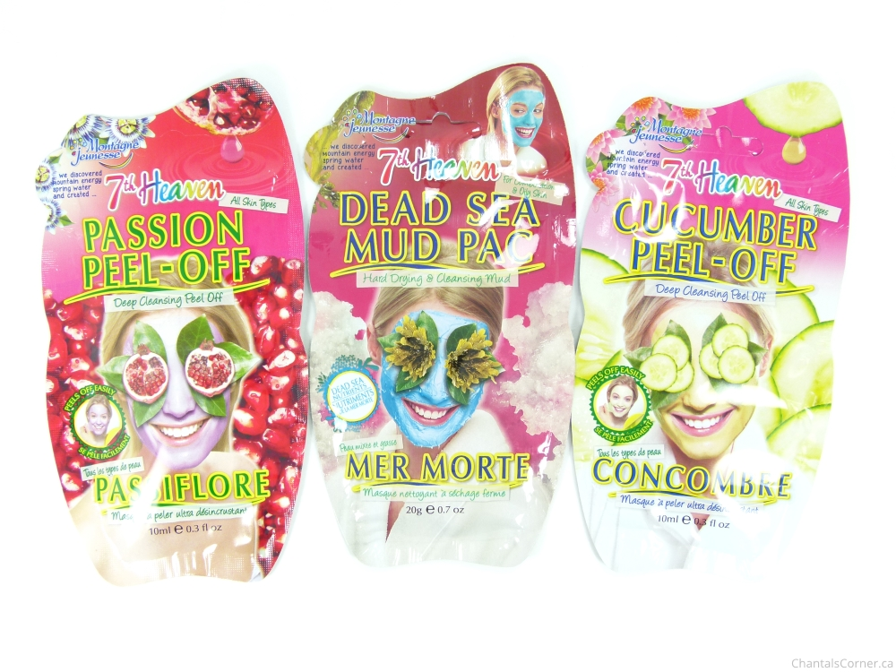 7th Heaven Face Masks Montagne Jeunesse