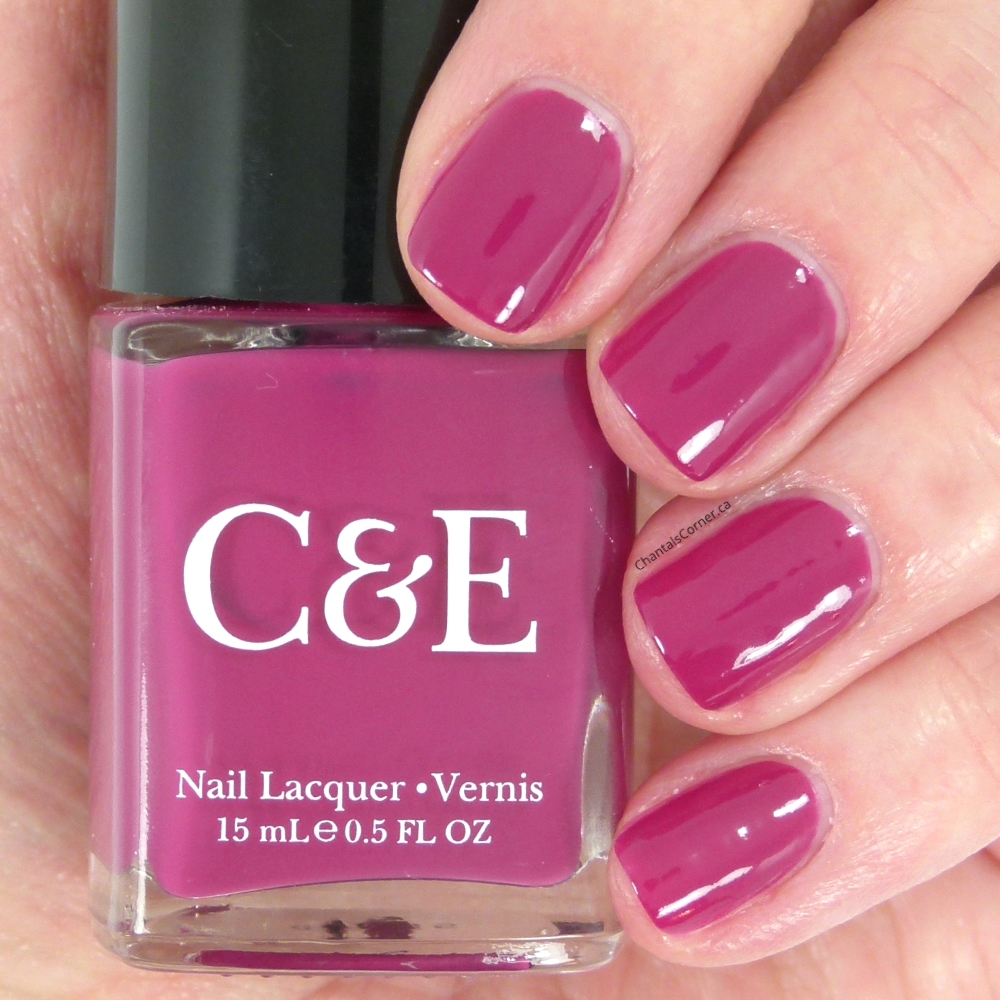 crabtree and evelyn beautyberry nail polish