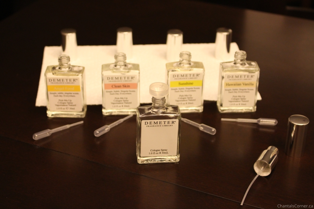 demeter blending kit duo clean skin sunshine trio vanilla