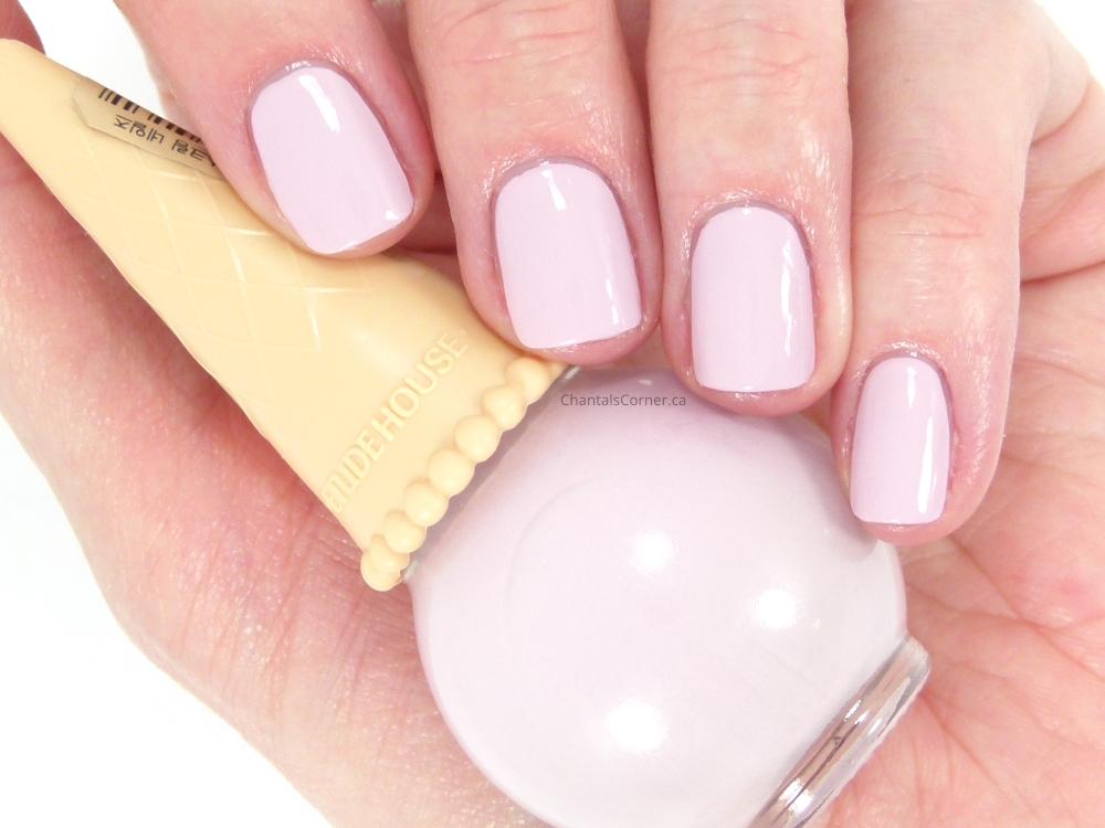 etude house purple ice cream nail polish
