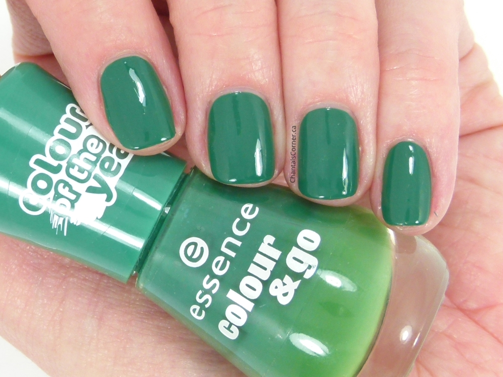 """essence """"the green & the grunge"""" nail polish – swatches and review"""