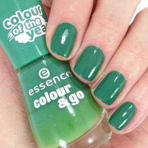 essence the green and the grunge nail polish