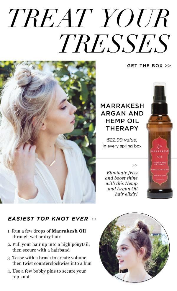 fabfitfun spring 2016 spoiler - marrakesh hair oil