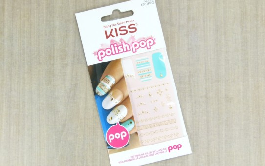 kiss polish pop nail art wisteria lane