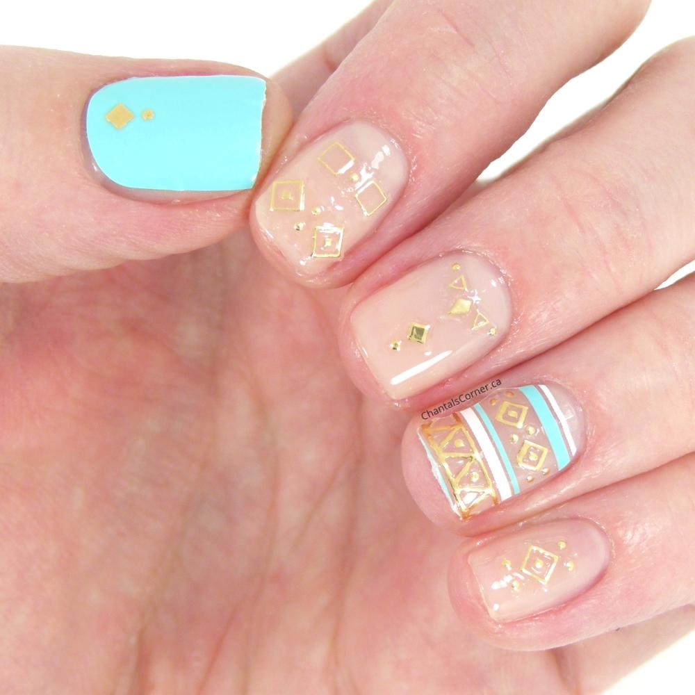 kiss polish pop nail art wisteria lane