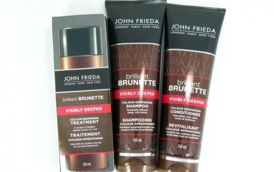 john frieda brilliant brunette visibly deeper products