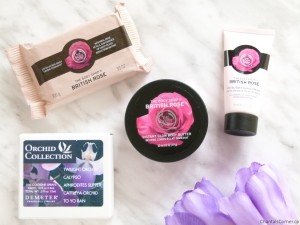 mother's day demeter orchid collection the body shop british rose
