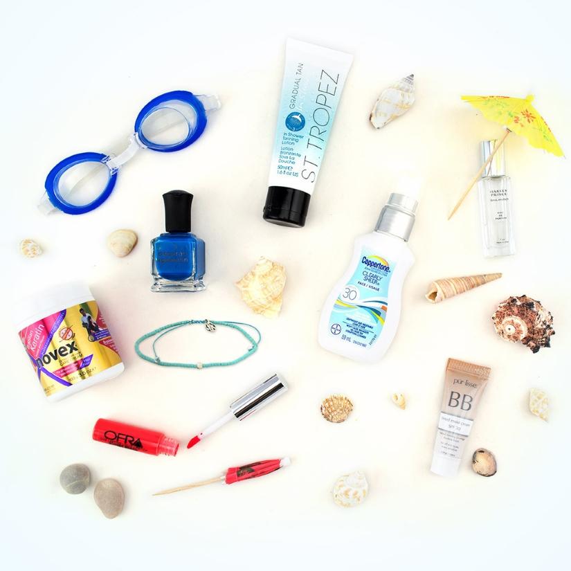 luxe box beach beauty essentials