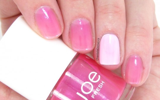 joe fresh petunia nail polish