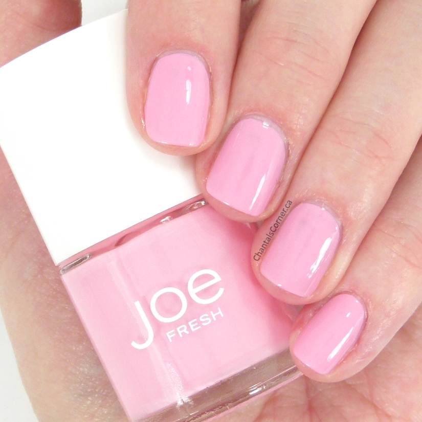 Joe Fresh ''Pink'' Nail Polish Swatches And Review