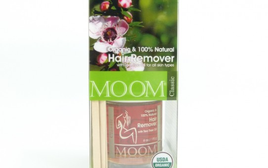 MOOM Organic Hair Removal kit with Tea Tree Classic