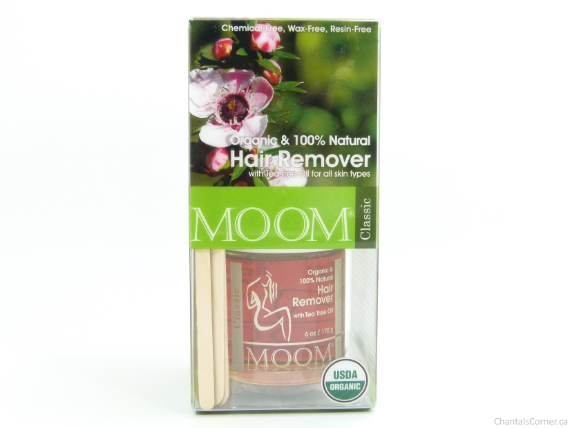 MOOM Organic Hair Removal kit with Tea Tree (Classic) Review